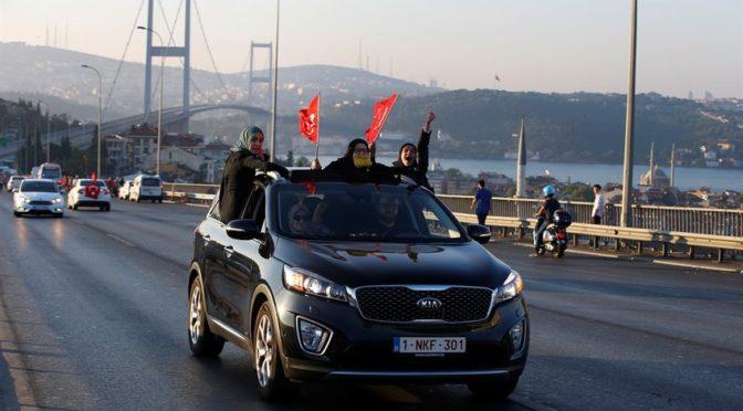 Турецкий народ предотвратил переворот