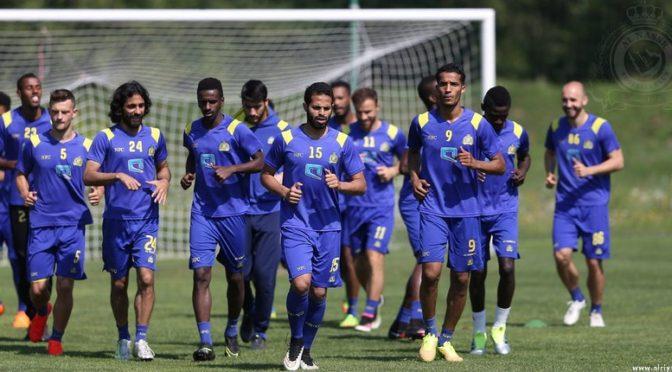 Тренировки саудийских футбольных клубов