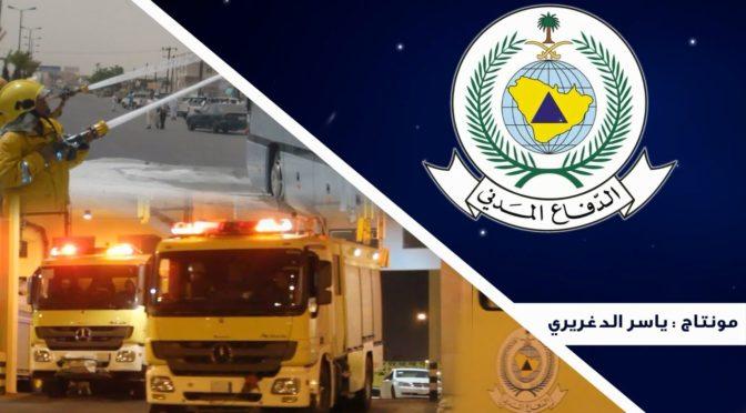 Департамент Гражданской обороны получил информацию о пожаре, вспыхнувшем на  одном из складов в  районе Джааран