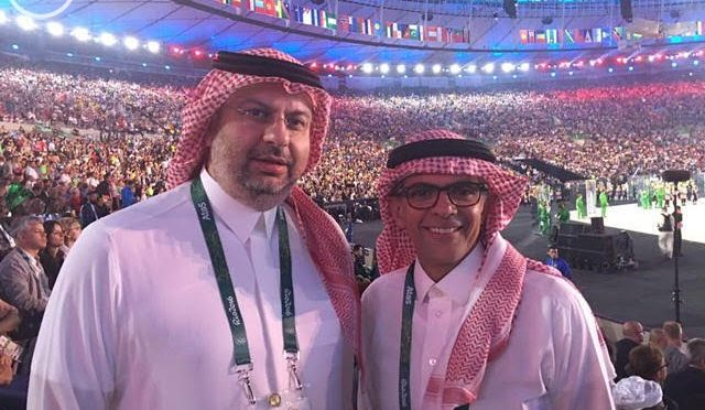 Принц Абдаллах бин Мусаад бин Абдулазиз присутствовал на церемонии открытия олимпиады в Рио-де-Жанейро в Бразилии
