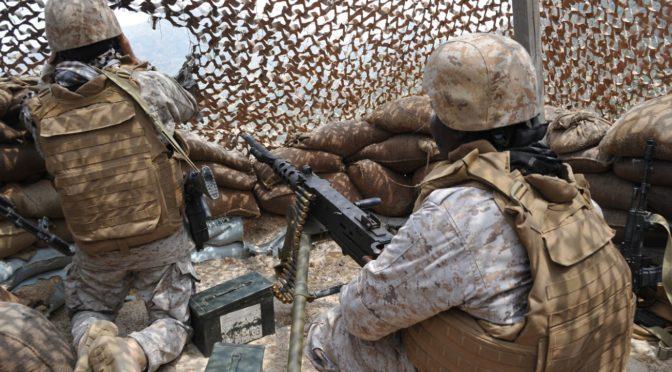 Смертью мученника пал капрал в следствии огня, открытого хусиитами по передовым позициям в южном Захране