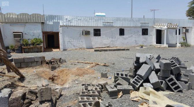 Погиб ребёнок и получил ранения другой ребёнок, а также трое резидентов в следствии падения на г.Наджран снаряда, выпущенного с территории Йемена