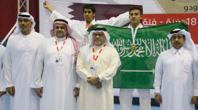 Саудийская команда дзюдоистов одержала победу на чемпионате среди стран Персидского залива среди юниоров и взрослых в групповом и командном зачёте