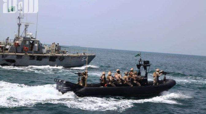 Корреспондент «Сабк» запечатлел подготовку сил ВМФ к защите границ Саудии