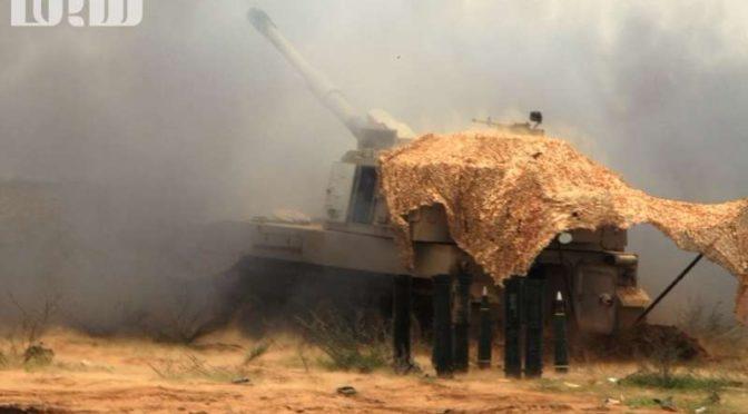 «Сабк» в полевых условиях … прибытие на позиции ВС Кувейта после удара по хусиитам