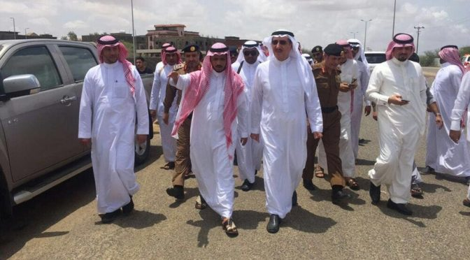 Губернатор провинции Джазан посетил ряд объектов, пострадавших от ливней и наводнения