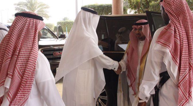 Губернатор округа Мухайял принял поздравления с Ид аль-Адха