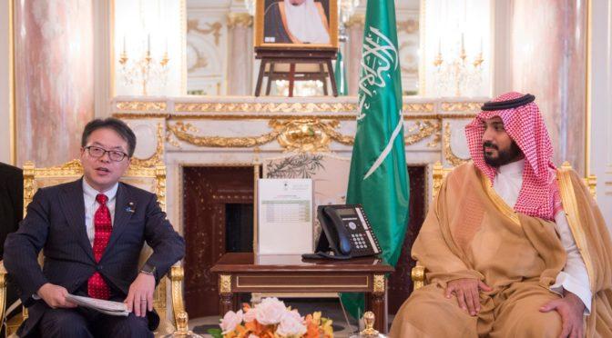 Его Высочество наследный принц изучил в Японии вопросы партнёрства в сфере инвестиций, торговли и промышленности