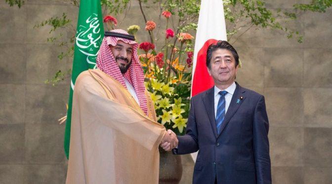 Премьер-министр Японии принял заместителя наследного принца