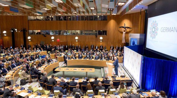 Его Высочество наследный принц от имени Служителя Двух святынь заявил в ООН о выделении 75 млн.$ в поддержку беженцев в координации с международными организациями