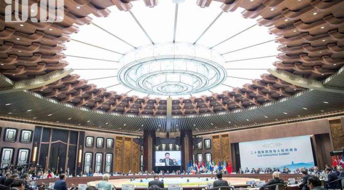 Президент США подошёл к принцу Мухаммаду бин Салману, дабы приветствовать его на саммите G20