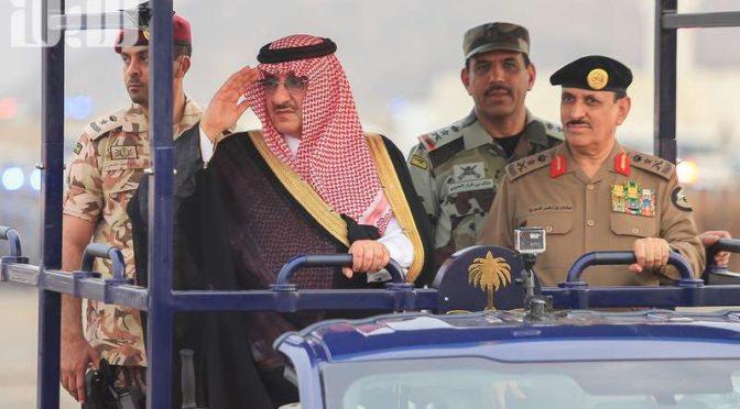 Яркие моменты и учебные бои в смотре  Объединённых сил безопасности Хаджа