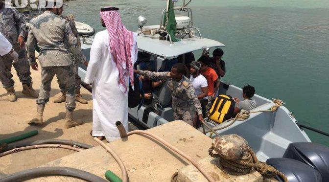 Спустя 3 дня … Авиация ВМФ обнаружила шестерых пропавших  туристов с острова Фарасан в территориальных водах Йемена