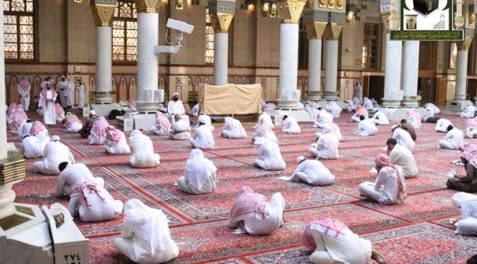 550 студентов колледжа Мечети Пророка сдают выпускной экзамен