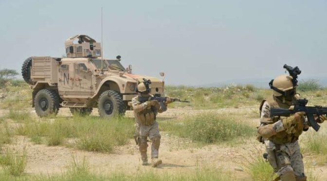 Прибытие военного подкрепления в Наджран