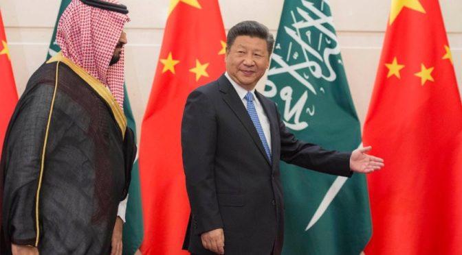 Визит заместителя наследного принца в Китай