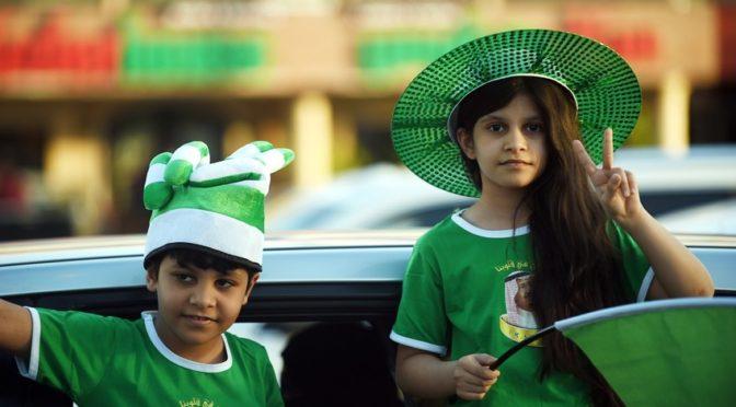 Дети в День отечества