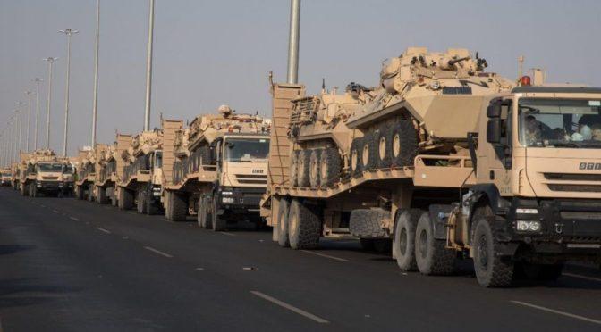 Дополнительные подкрепления Национальной гвардии прибывают в Наджран