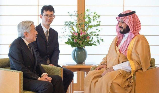 Император Японии принял в своём дворце заместителя наследного принца
