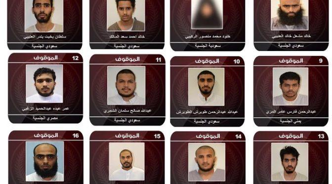 МВД: арестованы члены террористической сети из 17 человек