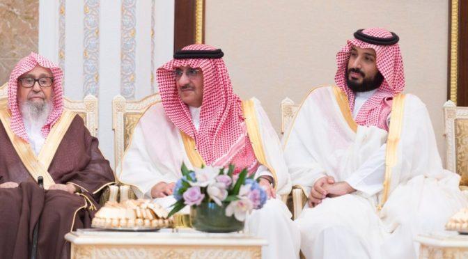 Правители Королевства принимают поздравляющих их