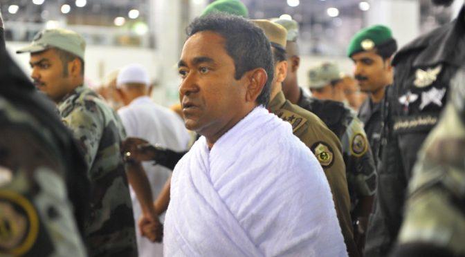 Президент республики Мальдивы исполнил обряды Умры
