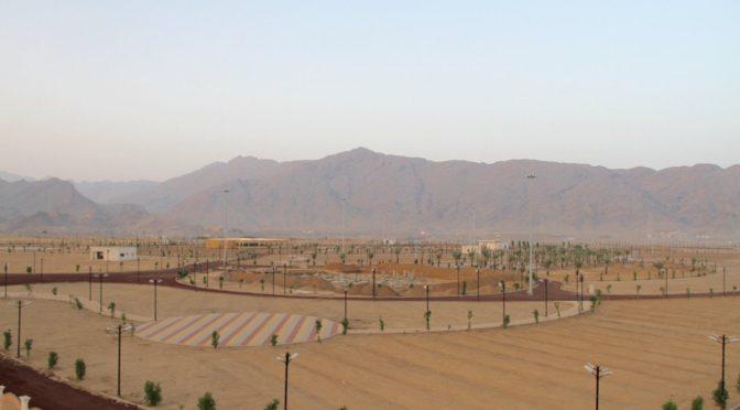 На 80% завершены работы по обустройству парка им.Короля Салмана в округе Мухайял провинции Асир