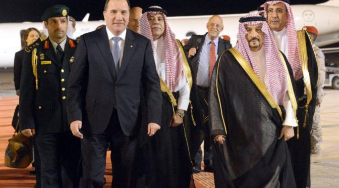 Премьер-министр Королевства Швеция прибыл в Эр-Рияд