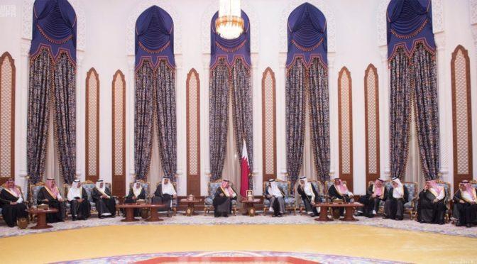 Король Салман принёс соболезнования в Катаре