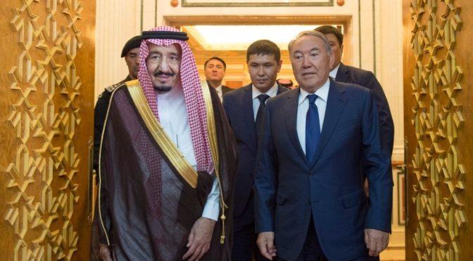 Служитель Двух Святынь и президент Казахстана провели официальные переговоры