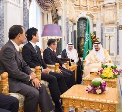 Служитель Двух Святынь принял министра экономики и торговли Японии