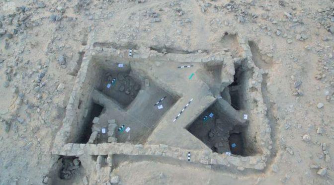 Британский университет изучает  архелогический  объект в провинции Табук, чей возраст оценивается в 8 тыс.лет