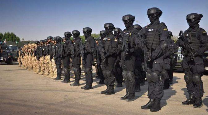 Подготовка сил безопасности Саудии и арабских стран Персидского залива в Бахрейне