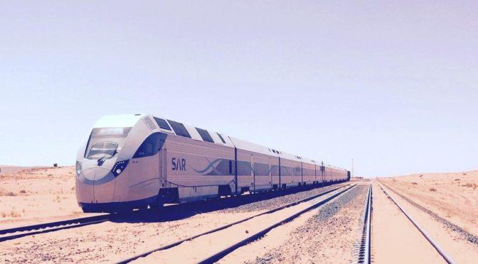 Губернатор Эр-Рияда принял поезд «SAR», совершив пробную поездку  из Эр-Рияда в Муджмаъ.