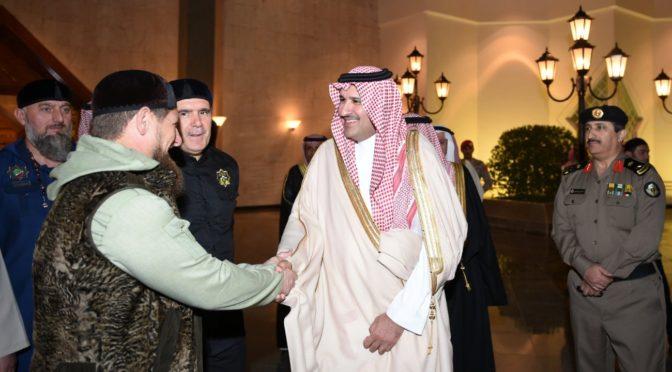 Его Превосходительство Глава Чеченской республики прибыл в Лучезарную Медину