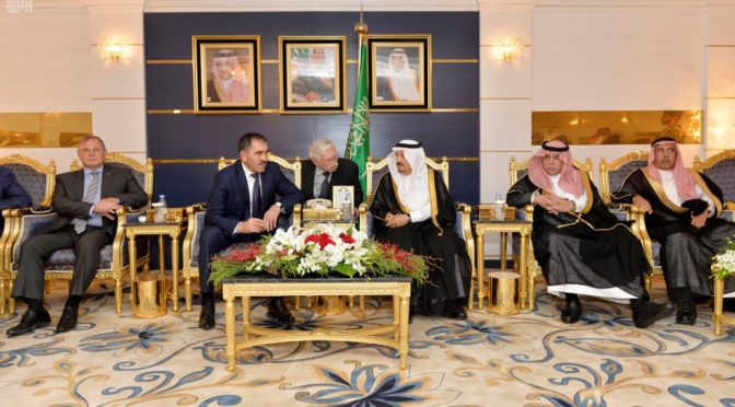Президент Ингушетии прибыл в Эр-Рияд