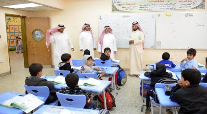 Чиновники департамента образования Северной приграничной провинции инспектировали школы  г.Аръар