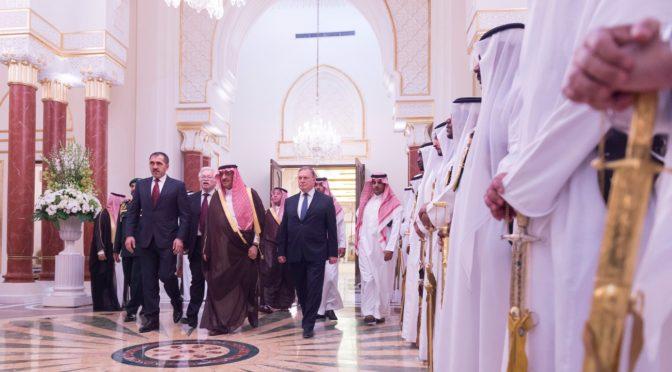 Его Высочество наследный принц дал торжественный ужин в честь президента Ингушетии