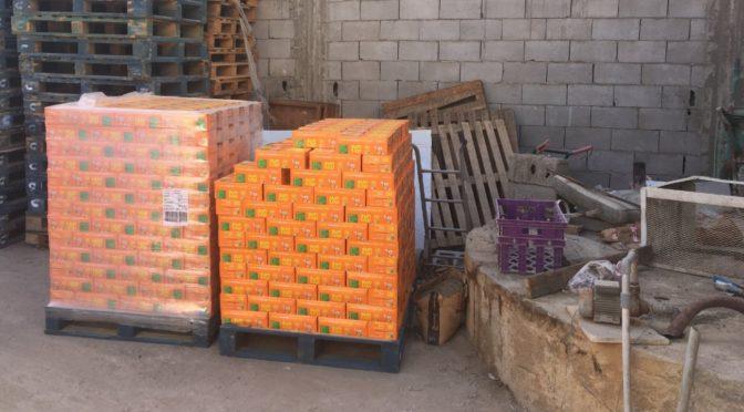 Муниципалитет Амладжа закрыл приспособленное помещение, которое использовалось для хранения соков и газированных напитков