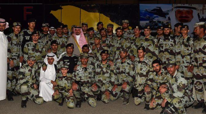 Губернатор Наджрана почтил своим визитов церемонию выпуска курсантов цикла по повышению квалификации сил спецназа провинции