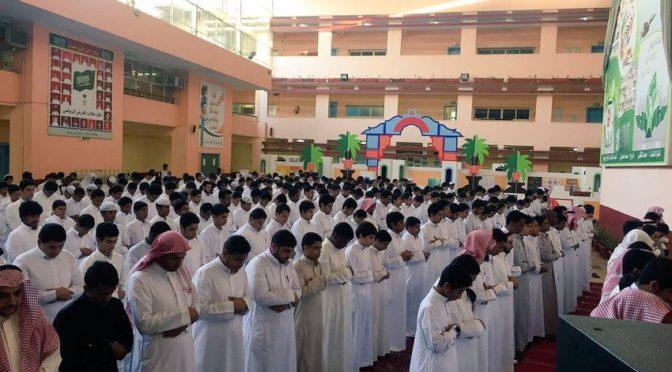 Молитва истиска прошла в провинциях и округах Королевства