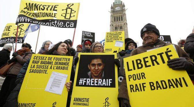 Саудия отвергла прошение Канады о освобождении Рауфа Бадави