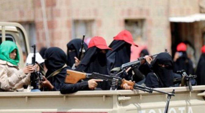 После детей и африканцев .. хусииты мобилизуют в свои ряды женщин
