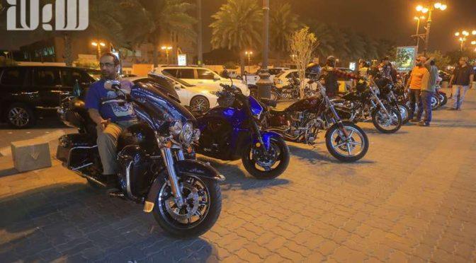 Корреспондент «Сабк» пообщался с членами байк-клуба Эр-Рияда, улекающимися мотоциклами «Харлей»