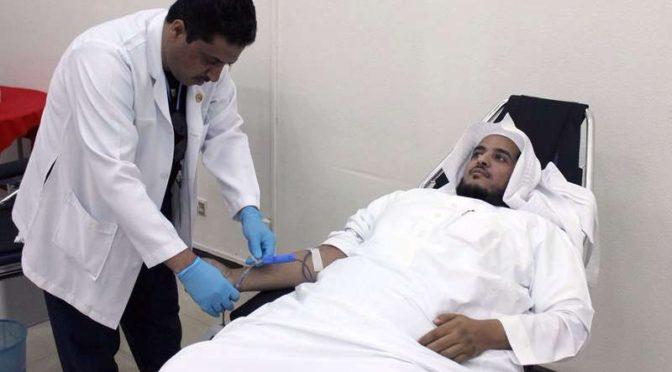Министерство по делам Ислама провело компанию по донорской сдаче крови для солдат на южной границе