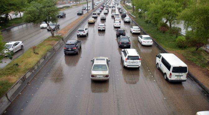 Небеса Эр-Рияда: дождь и тучи
