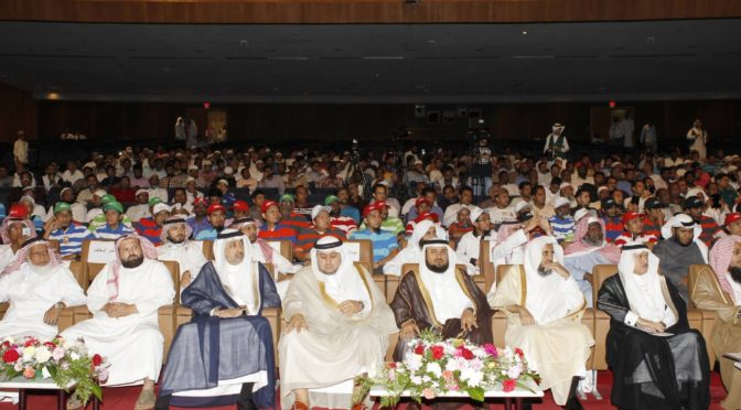 Офис по наставлению меньшинств в г.Санаие округа Джидда провёл церемонию чествования новообращённых мусульман