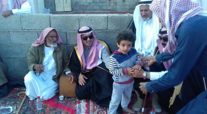 Губернатор округа аль-Акик принёс соболезнования  правителей Королевства семье павшего мученником мл.серж.