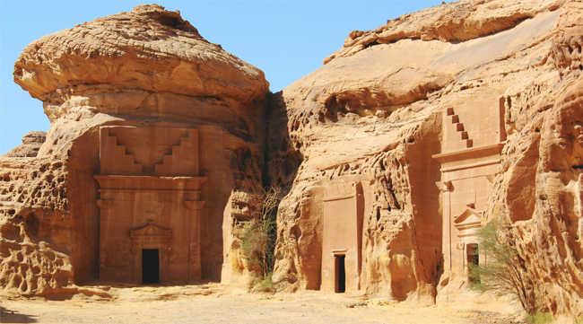 Прекрасная фотография горы «Слон»  — одной из главных природных достопримечательностей округа аль-Уля