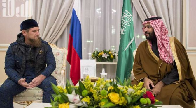 """Глава Чеченской республики для газеты """"Эр-Рияд"""": Королевство – сердце Исламского мира и и мы совместно работаем в борьбе с терроризмом"""